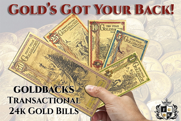 Gold's Got Your Back!