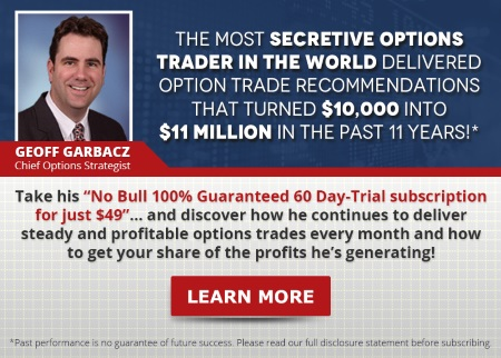 The most secretive options trader in the world... [Learn More]
