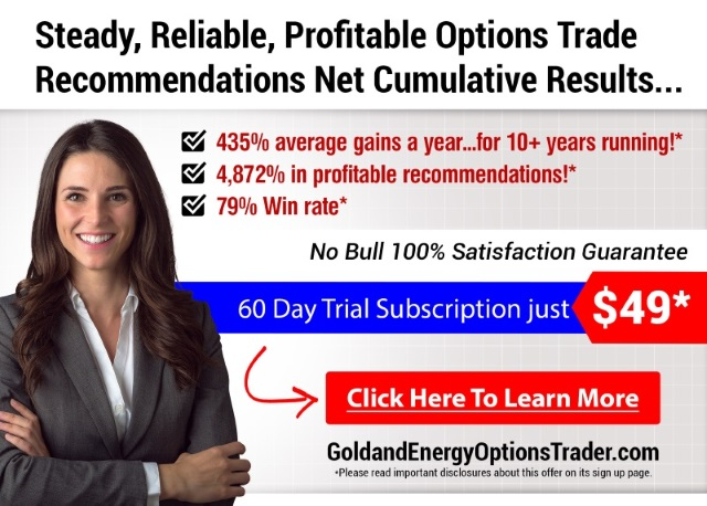 Steady, Reliable, Profitable Options Trade Recommendations [Click here to learn more]