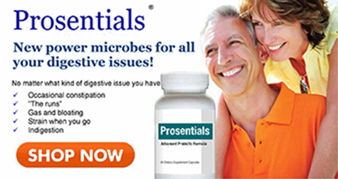 Prosentials: Restore Your Body's Healthy Balance: SHOP NOW