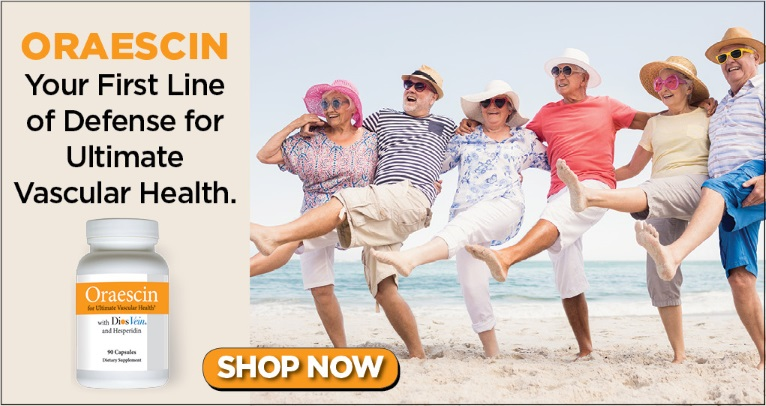Oraescin: Your First Line of Defense for Ultimate Vascular Health: SHOP NOW