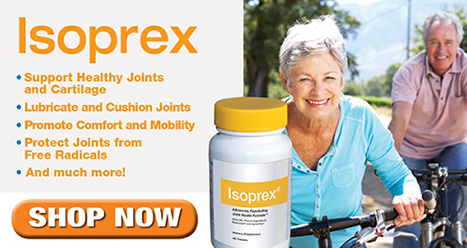 Isoprex: Support Healthy Joints and Cartilage: SHOP NOW