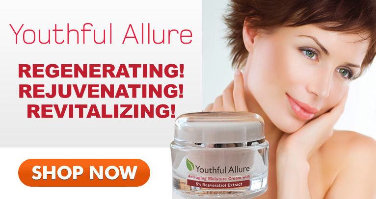 Youthful Allure: Regenerating! Rejuvenating! Revitalizing! SHOP NOW