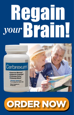 Cerbrexum: Regain your Brain! ORDER NOW